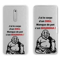 Housse cuir portefeuille Nokia 5.1 (2018) Humour