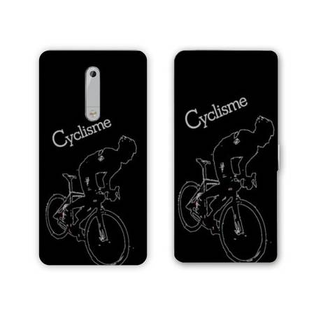 Housse cuir portefeuille Nokia 5.1 (2018) Cyclisme