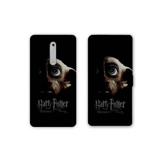Housse cuir portefeuille Nokia 5.1 (2018) WB License harry potter A