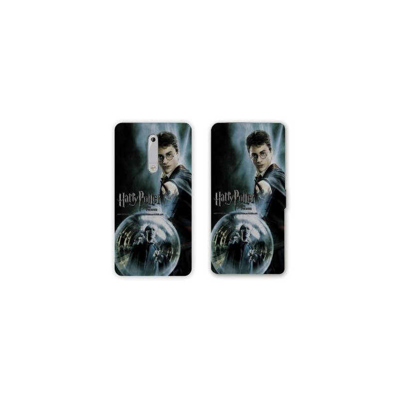 Housse cuir portefeuille Nokia 5.1 (2018) WB License harry potter C
