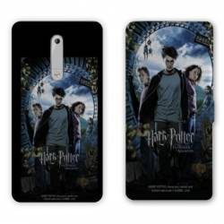 Housse cuir portefeuille Nokia 5.1 (2018) WB License harry potter D