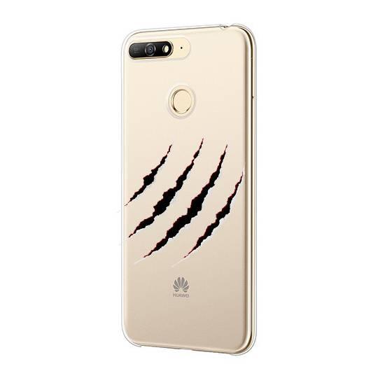 Coque transparente Huawei Y6 (2018) / Honor 7A griffure