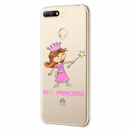 Coque transparente Huawei Y6 (2018) / Honor 7A magique mme princesse