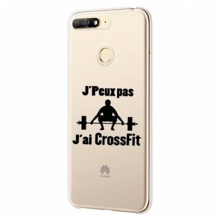 Coque transparente Huawei Y6 (2018) / Honor 7A jpeux pas jai crossfit