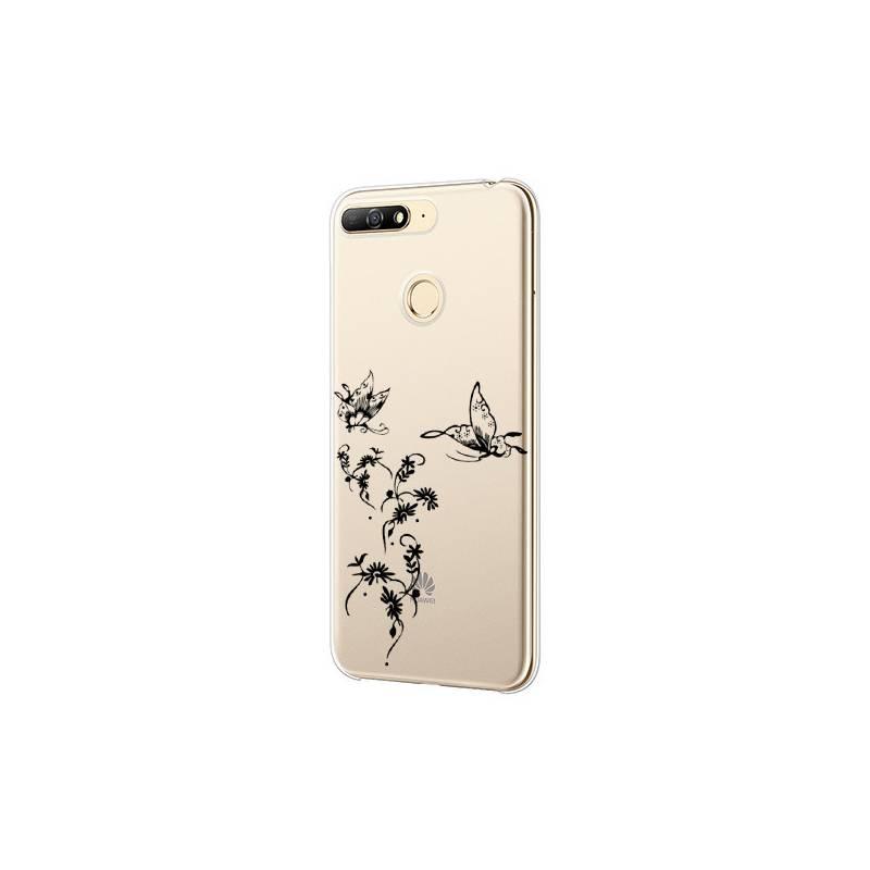 Coque transparente Huawei Y6 (2018) / Honor 7A feminine envol fleur
