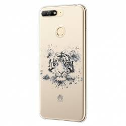 Coque transparente Huawei Y6 (2018) / Honor 7A tigre