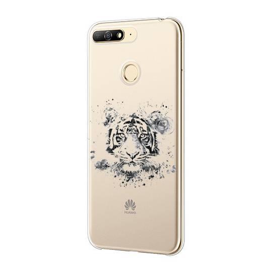 Coque transparente Huawei Y6 (2018) / Honor 7A tigre