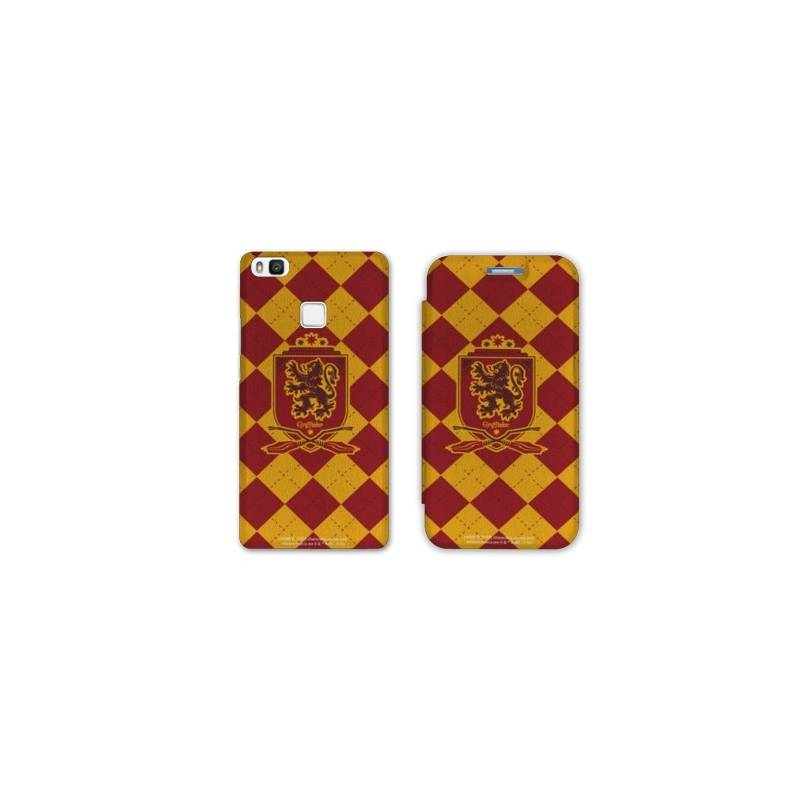 RV Housse cuir portefeuille Huawei Y6 (2018) / Honor 7A WB License harry potter ecole