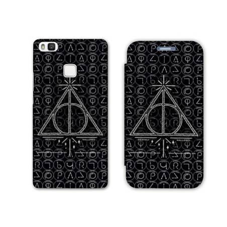 RV Housse cuir portefeuille Huawei Y6 (2018) / Honor 7A WB License harry potter pattern