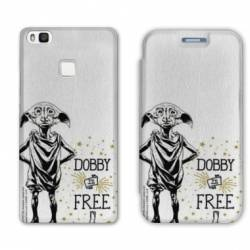 RV Housse cuir portefeuille Huawei Y6 (2018) / Honor 7A WB License harry potter dobby