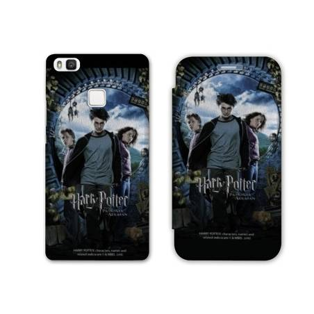 RV Housse cuir portefeuille Huawei Y6 (2018) / Honor 7A WB License harry potter D