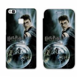 RV Housse cuir portefeuille Huawei Y6 (2018) / Honor 7A WB License harry potter C