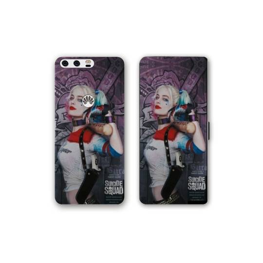 RV Housse cuir portefeuille Huawei Y6 (2018) / Honor 7A Harley Quinn