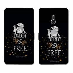 Housse cuir portefeuille Sony Xperia XZ3 WB License harry potter dobby