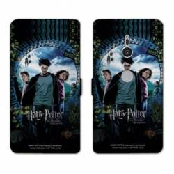 Housse cuir portefeuille Sony Xperia XZ3 WB License harry potter D