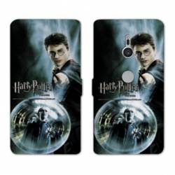 Housse cuir portefeuille Sony Xperia XZ3 WB License harry potter C