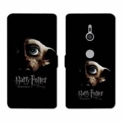 Housse cuir portefeuille Sony Xperia XZ3 WB License harry potter A