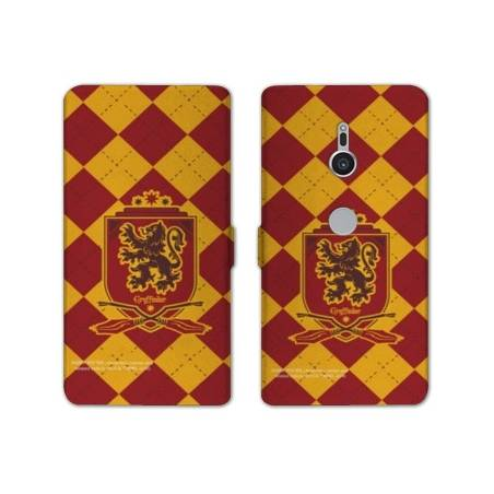 Housse cuir portefeuille Sony Xperia XZ2 WB License harry potter ecole