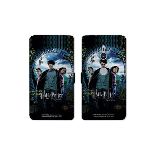 Housse cuir portefeuille Sony Xperia XZ2 WB License harry potter D