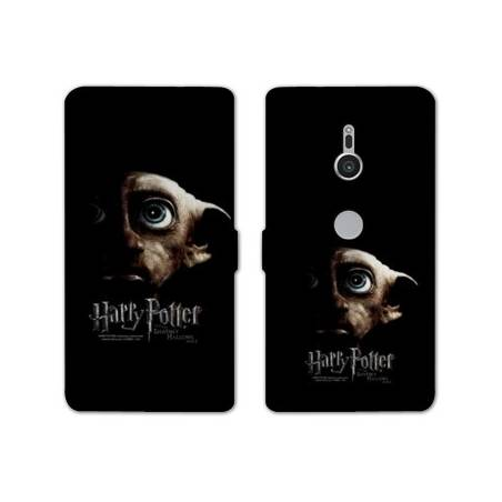 Housse cuir portefeuille Sony Xperia XZ2 WB License harry potter A
