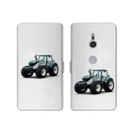 Housse cuir portefeuille Sony Xperia XZ2 Agriculture