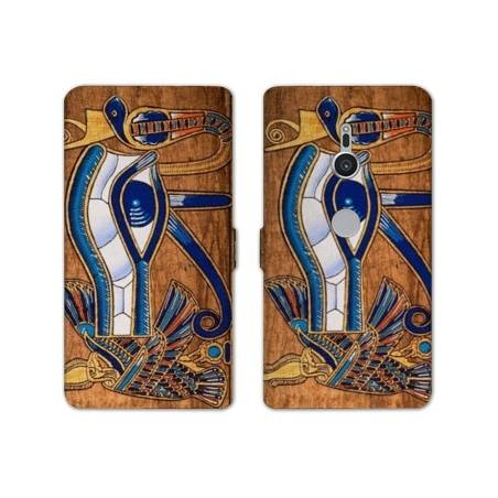 Housse cuir portefeuille Sony Xperia XZ2 Egypte