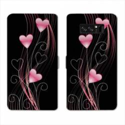 RV Housse cuir portefeuille Samsung Galaxy S10 amour