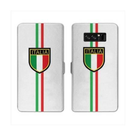 RV Housse cuir portefeuille Samsung Galaxy S10 Italie