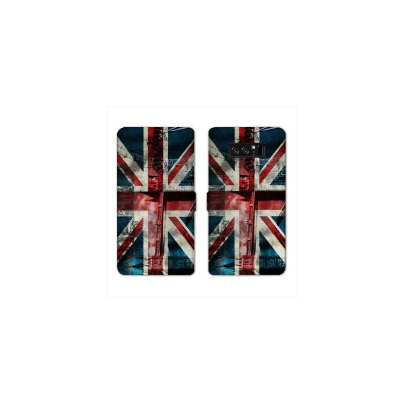 RV Housse cuir portefeuille Samsung Galaxy S10 Angleterre