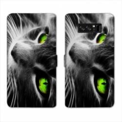 RV Housse cuir portefeuille Samsung Galaxy S10 animaux