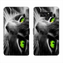 RV Housse cuir portefeuille Samsung Galaxy S10 animaux