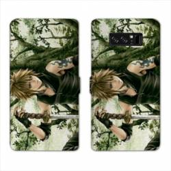 RV Housse cuir portefeuille Samsung Galaxy S10 Manga - divers