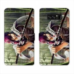 RV Housse cuir portefeuille Samsung Galaxy S10 Manga - divers