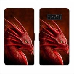 RV Housse cuir portefeuille Samsung Galaxy S10 Fantastique