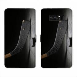 RV Housse cuir portefeuille Samsung Galaxy S10 Sport Glisse