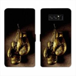 RV Housse cuir portefeuille Samsung Galaxy S10 Sport Combat