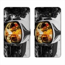 RV Housse cuir portefeuille Samsung Galaxy S10 pompier police