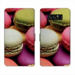 RV Housse cuir portefeuille Samsung Galaxy S10 Gourmandise