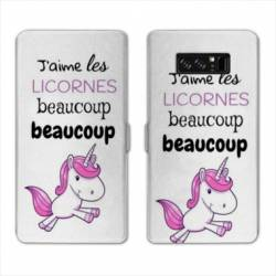 RV Housse cuir portefeuille Samsung Galaxy S10 Decale