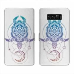 RV Housse cuir portefeuille Samsung Galaxy S10 Animaux Maori
