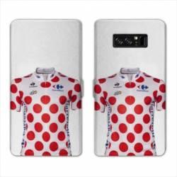 RV Housse cuir portefeuille Samsung Galaxy S10 Cyclisme