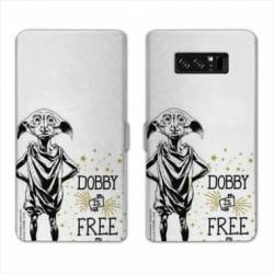 RV Housse cuir portefeuille Samsung Galaxy S10 WB License harry potter dobby