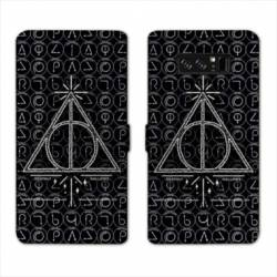 RV Housse cuir portefeuille Samsung Galaxy S10 WB License harry potter pattern