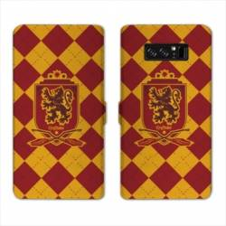 RV Housse cuir portefeuille Samsung Galaxy S10 WB License harry potter ecole