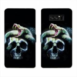 RV Housse cuir portefeuille Samsung Galaxy S10 reptiles