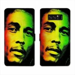 RV Housse cuir portefeuille Samsung Galaxy S10 PLUS Bob Marley