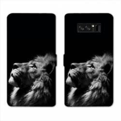 RV Housse cuir portefeuille Samsung Galaxy S10 PLUS felins