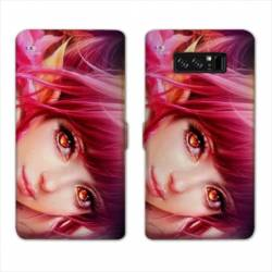RV Housse cuir portefeuille Samsung Galaxy S10 PLUS Manga - divers