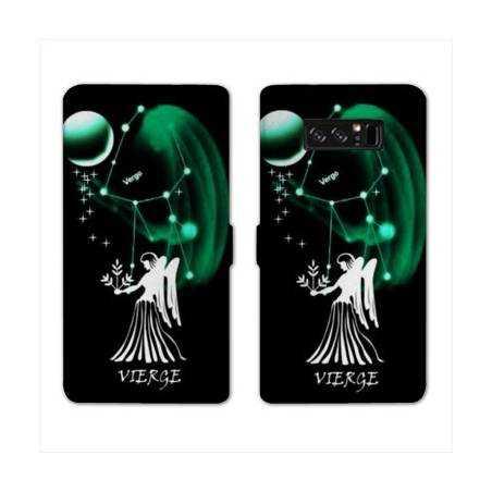 RV Housse cuir portefeuille Samsung Galaxy S10 PLUS signe zodiaque