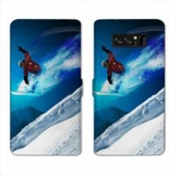 RV Housse cuir portefeuille Samsung Galaxy S10 PLUS Sport Glisse